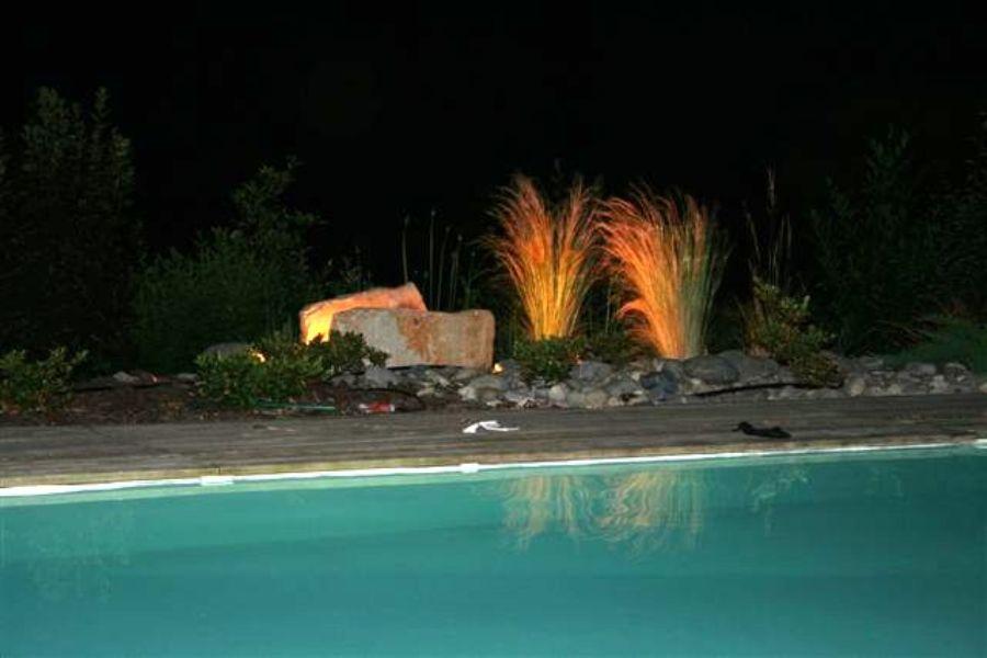 M tier eclairage lectricit jardin de charme for Entretien jardin bidart