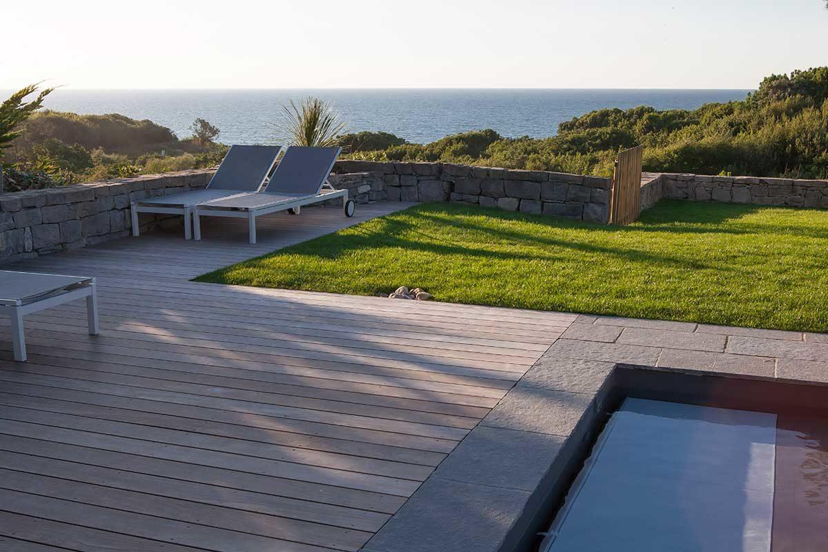 M tier terrasse bois jardin de charme for Entretien jardin bidart